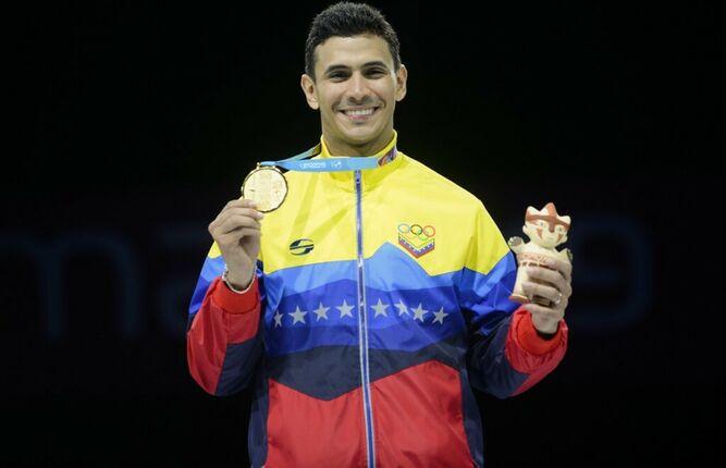 El espadista dorado: Rubén Limardo