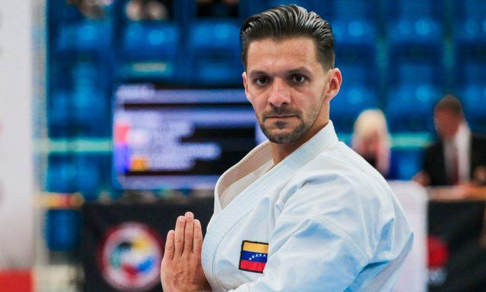 Antonio Díaz ha creado récords en el karate mundialA